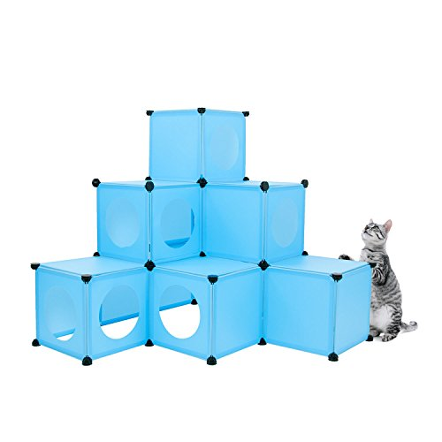 Cat Condo / XL Modular 109 Piece Cat Condo / Cat House / DIY Cat Tower / Cat Tree Kit / Build Your Own Fully Customizable Cat House By Frontpet
