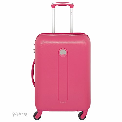 Delsey Bagage Cabine Helium Classic, 44 L, Rouge (Framboise)
