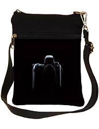 Snoogg Nikon Camera Cross Body Tote Bag / Shoulder Sling Carry Bag