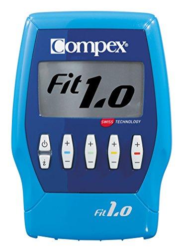 Compex FIT 1.0. - Electroestimulador, color azul