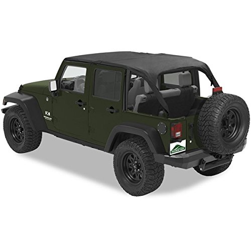 Pavement Ends by Bestop 41526-35 Black Diamond Sun Cap Plus for 07-10 JK Wrangler Unlimited