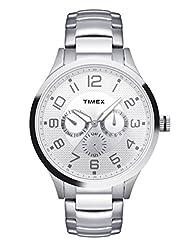 Timex Fashion Analog Silver Dial Men's Watch - TW000T306