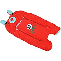 Chhote Janab Baby Antifilling Sleeping Bag (Red And Blue)