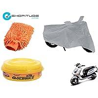 ESHOPITUDE-Bike & Car Cleaning & Utility Combo Set Of 3-TVS QUBE
