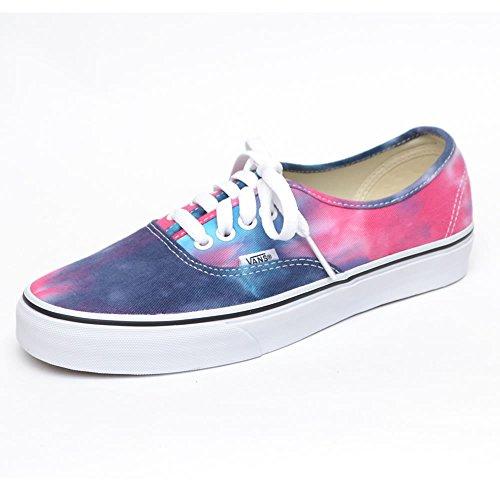 (バンズ)VANS メンズ レディース Authentic VN-0ZUK (Tie dye)Navy/turquoise (Tie dye)Pink/Blue (Tie dye)Navy/Burnt Orange バンズ ユニセックス 人気 オーセンティック スニーカー 靴[並行輸入品] (26.5cm, (Tie dye)Pink/Blue)
