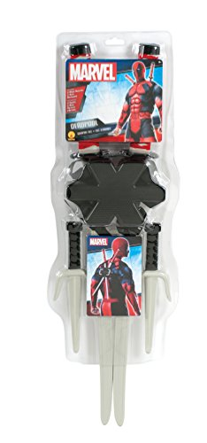 Men's Marvel Classic Deadpool Weapon Costume Accessory Kit