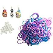 Disney Frozen Loom Bands, 3 Charm Set (12 Pack)