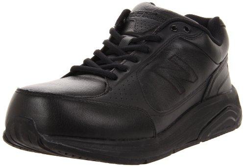 New Balance Men's MW928 Lace Walking Shoe,Black,7 D US