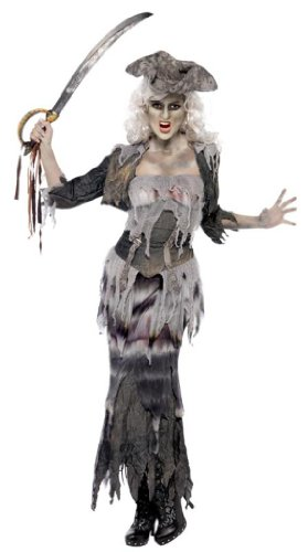 Plus-Size Ghost Ship Ghoulina Costume
