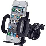 Bike Handlebar Phone Holder - Syrinx Universal Adjustable Bicycle Mount Holder For Cell Phones IPhone 6S 6 5S...
