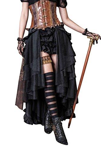 Victorian Steampunk Pencil Skirt