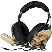 ARCTIC P533 Military - Wired Over Ear Stereo Gaming Headset Wit Boom Mic For PC Laptop Playstation Xbox Noise...