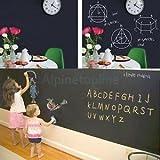 Vintage Chalkboard Wall Sticker Removable DIY Blackboard Decal 200x45cm