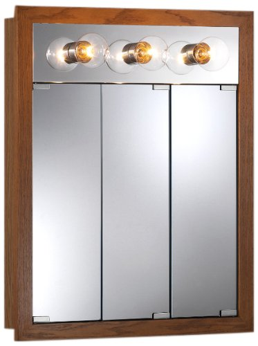 lighted medicine cabinet 755395 24 by 30 by 4 34 inch granville lighted 22684