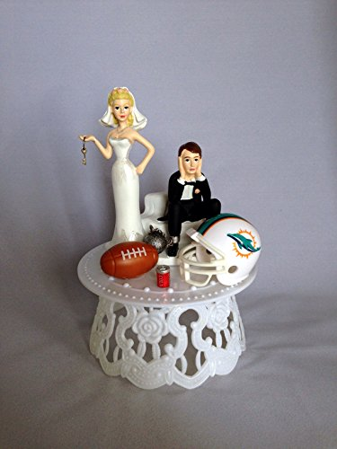 miami dolphin wedding cake toppers dolphins figurines miami dolphins figurine dolphins 17330