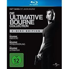 amazon Adventskalender: Die ultimative Bourne Collection [Blu-ray] für nur 20 € !