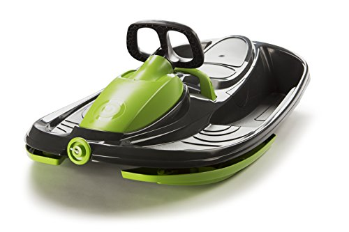 Plastkon Lenkschlitten Steerable Sledges Stratos, Mystic Black, 41104204