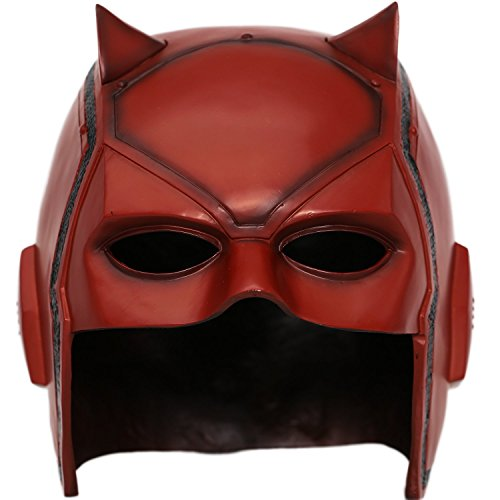 XCOSER DD Matt Mask Helmet Props for Adult Halloween Costume