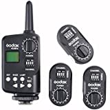 Godox Ft-16 Trigger 433Mhz 16 Channels Remote Wireless Power Control 1PCS Transmitter + 3PCS Receiver For Witstro...