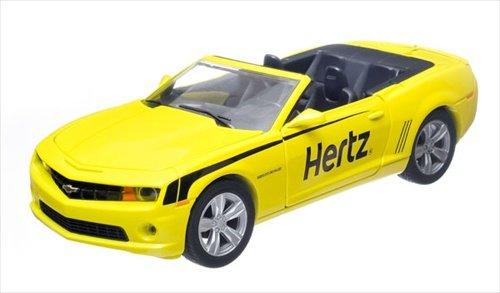GreenLight 2012 Chevrolet Camaro Convertible - Hertz Rent-A-Car Diecast Vehicle, 1:24 Scale