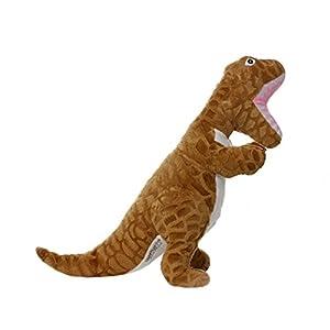 Pet Supplies : Pet Squeak Toys : Mighty Dinosaur Dog Toy