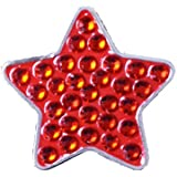 Bella Crystal Collection-USA Red Star Hat Clip Set