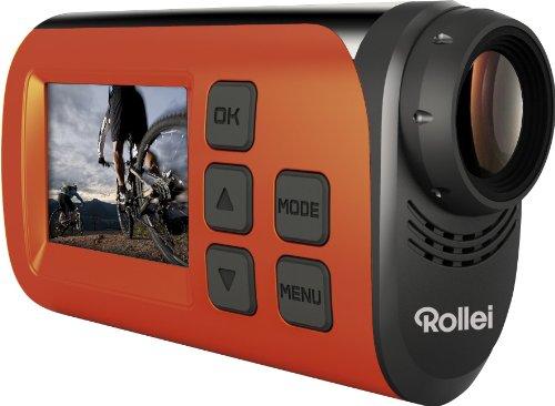 Rollei S-30 WIFI Plus - Cámara deportiva (1920 x 1080 Pixeles, 1280 x 720, 1920 x 1080 Pixeles, AVI, MOV, CMOS, 2 MP, JPG) Negro, Naranja (importado)