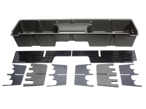 Du-Ha 10001 Chevrolet/GMC Under Seat Storage Console Organizer – Dark Gray