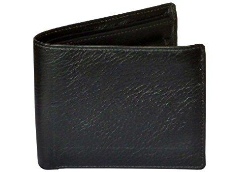 Sondagar Arts Black Mens Leather Wallet - B00QKKCPM0