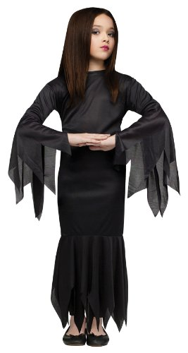 Great Group Halloween Costumes: The Addams Family - Child Morticia Costume