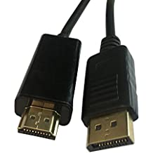 Alcoa Prime 1. 8M Displayport Display Port DP To HDMI Cable Male To Male Full HD High Speed Gift 1pcs Nov 19