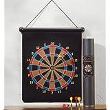 Magnetic Dart Board Set Hanging Wall Rubber Dartboard