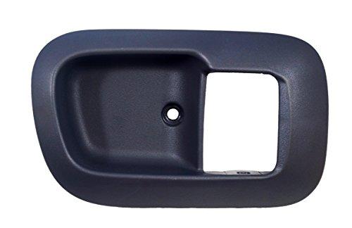 PT Auto Warehouse TO-2530G-2FR – Inside Interior Inner Door Handle Trim/Bezel, Gray – Passenger Side Front