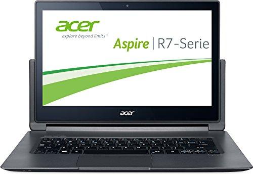 Acer Aspire R13 R7-371T-56ZR - Ordenador portátil (Híbrido (2-en-1), Touchpad, Windows 10 Home, Ión de litio, 64-bit, Negro)