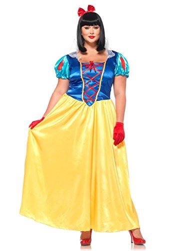 Halloween 2017 Disney Costumes Plus Size & Standard Women's Costume Characters - Women's Costume CharactersPlus Size Classic Snow White - Sizes Up to Plus Size 4x