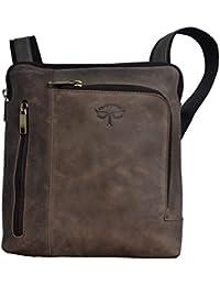 Tamanna Multi Pocket Leather Sling Bag