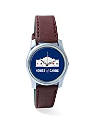 PosterGuy House Of Cards Analog Women's Wrist Watch-2464037736-RS2-S-BRW