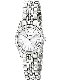 Geneva Women's 2441A-GEN Analog Display Analog Quartz Silver Watch