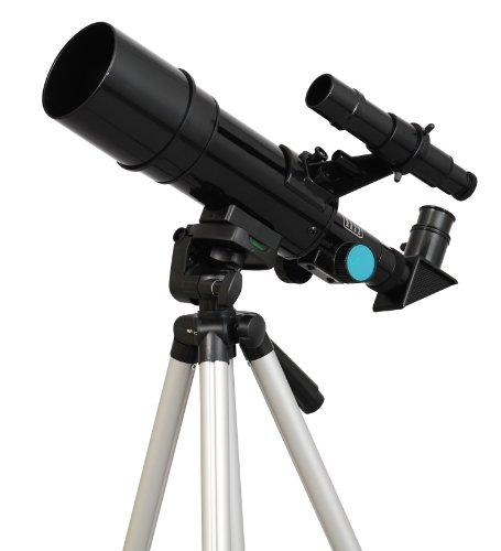 Black Twinstar 60mm Compact Kids Refractor Telescope