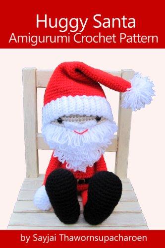 Huggy Santa Amigurumi Crochet Pattern