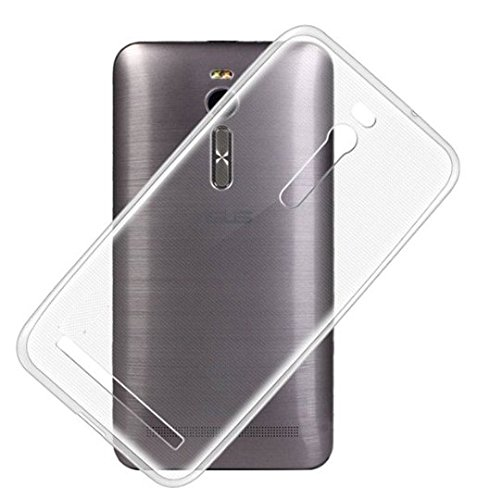 Piloda Clear TRANSPARENT TPU SOFT/SILICONE BACK CASE COVER FOR Asus Zenfone 2 (ZE550ML/ZE551ML)