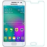 SNOOGG Pack Of 6 Samsung Galaxy A3 Full Body Tempered Glass Screen Protector [ Full Body Edge To Edge ] [ Anti...