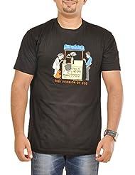 Stallion Cottons Men's Round Neck Cotton T-Shirt - B00ZIHT4F2