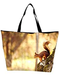 Snoogg Abstract Animal Designer Waterproof Bag Made Of High Strength Nylon