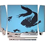 The Little Mermaid In The Sea Silhouette Design Print Image Playstation 3 & PS3 Slim Vinyl Decal Sticker Skin by Trendy Accessories