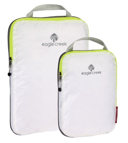 Eagle Creek Travel Gear Pack-It Specter Compression Cube Set, White, One Size