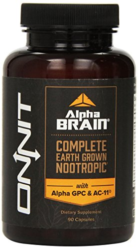Onnit - Alpha Brain for Mental Dominance - 90 Capsules