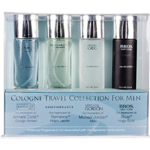 Travel Collection for Men 4 Piece Set