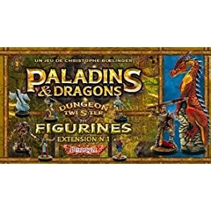 Click to buy Dungeon Twister Miniatures: Red Paladins & Dragons Set (8) from Amazon!