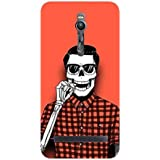 Skeleton Checks - Skeleton Swag - Hard Back Case Cover For Asus Zenfone 2 - Superior Matte Finish - HD Printed Cases And Covers